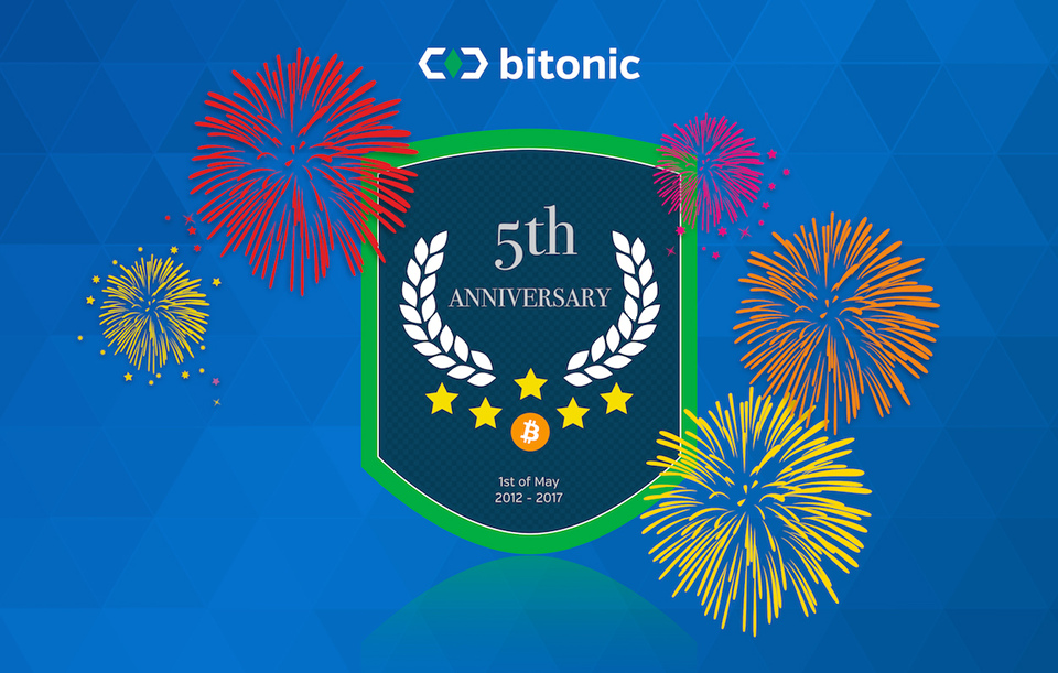 -Bitonic is celebrating its fifth anniversary!