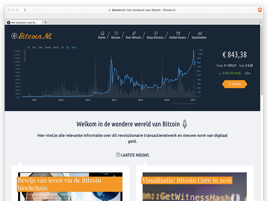 -Bitcoin.nl is now live!