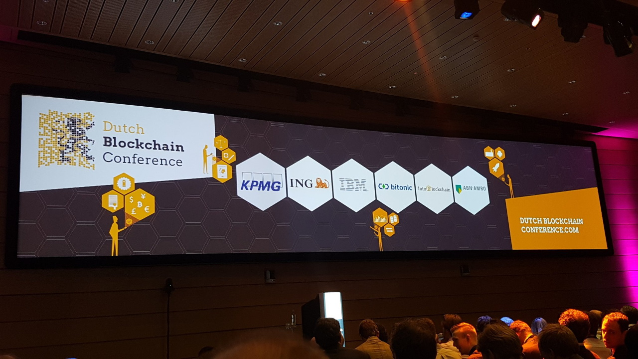 -Dutch Blockchain Conference 2016
