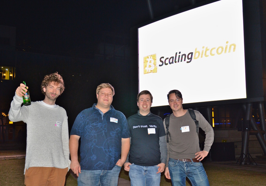 Scaling Bitcoin Hong Kong