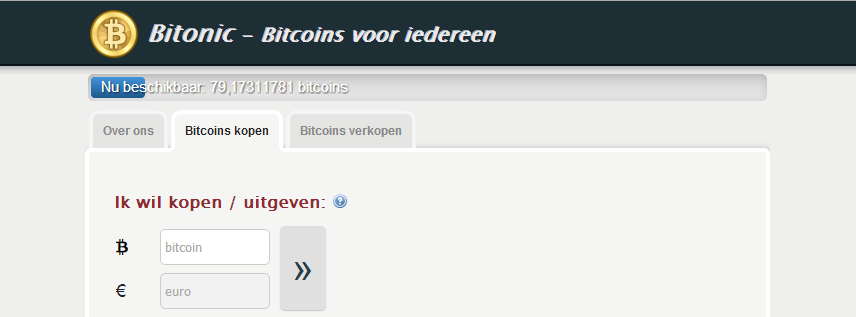 -Idealcoin.nl becomes Bitonic.nl