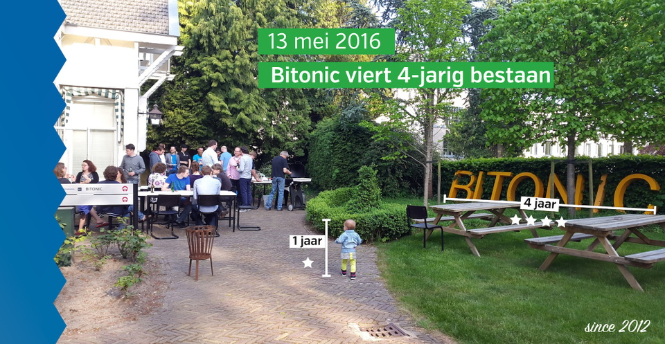 -Bitonic exist four years!